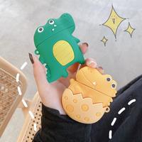 可愛い恐竜デザインエアーポッズプロケース 恐竜の卵 airpodsカバー人気アイテム [M00062]