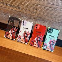 京劇 iphone12/12promaxケース 花形役者クリア iphone11promax/SE2/8PLUSカバー 個性携帯ケース 耐久性衝撃 頑丈 滑り止め機能付きM161