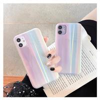 オーロラ光るiphone12ケース ピンク系オシャレアイフォン12mini/SE2/11PROケース インスタ映え ネット人気者愛用 GIRLSオススメM101
