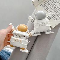 宇宙飛行士 AirPodsProケース spaceman airpodsカバー   可愛い人形  カッコイイM396