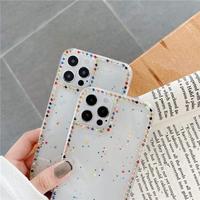 マルチカラー枠 iphone12/11ケース  多彩 デコクリアiphoneSE2/XS/XRカバー 綺麗 頑丈 インスタ人気 M480