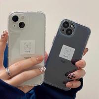 Face ID 顔認証されないiphone13/13promaxケース 高透明クリア iphone12/11promaxカバー 可愛い 面白い ファッション M1178
