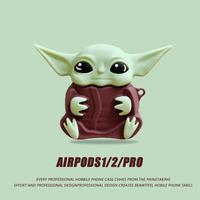 エイリアン airpodsケース   alien宇宙人 airpodsproカバー   頑丈便利 個性的エアーポッズケースM362