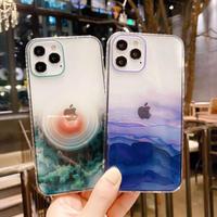 アイフォン12プロ/12promaxクリアケース 綺麗iphonexsmaxケース ガールズiphonexsケース 透明ケース シンプル風スマホケース お揃いオシャレカバーM76