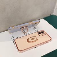 パンカーリング付 iphone11/12promaxケース スタンド機能 アイフォンse2/xsmaxカバー  便利保護力強い頑丈スマホケースM370