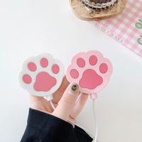 マグセーフ充電器保護ケース 猫の爪 MagSafe充電器カバー  可愛いキュート iphone12pro/12アクセサリーM211