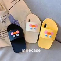 スリッパデザイン iphonexs/xrケース  かわいい個性iphonexs maxカバー シリコン製ソフトアイフォン8携帯ケース