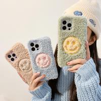 笑顔 アイフォン13/13promaxカバー   柔らかい暖かい お揃い iphone12pro /11ケース   頑丈 可愛いM1162