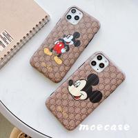 可愛いミッキー柄iphone11roケース  キャラクターアイフォン11携帯カバー Mickey人気アイテム [M00053]