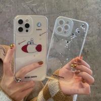可愛い宇宙飛行士 iphone13pro/12promaxケース 高透明感艶カラー アイフォン11promax/XRカバー  お揃い ギフト 保護力いいM1169