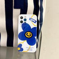 笑顔の花柄 iphone13proケース ツヤカラー iphone12/11promaxカバー 可愛い 保護性いい ファッション M1182
