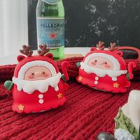 クリスマスブタ airpodsproカバー  可愛い エアポッツケース   可愛い  頑丈 プレゼントM907
