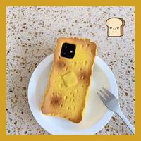 トースト iphone12/11proケース フレンチトーストアイフォンXS/SE2カバー 可愛い面白いスマホケースM230