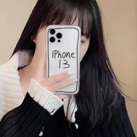 高透明 iphone13/13promaxケース 保護性高い iphone12/11promaxカバー 可愛い 面白い シンプル風 M1194