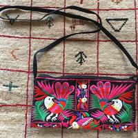刺繍ショルダー