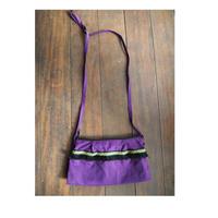 紫フリンジショルダー