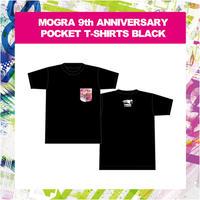 MOGRA 9th ANNIVERSARY POCKET T-SHIRTS (BLACK)