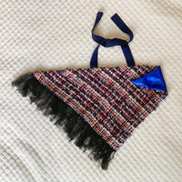 カゴカバー Sサイズ(England tweed・ tricolore check)