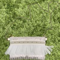 ショルダーポーチ(France tweed・silver)