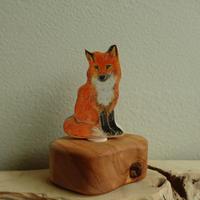 Fox Ornament /Margo リングオーナメント きつね