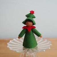 クリスマスツリー ブラウン