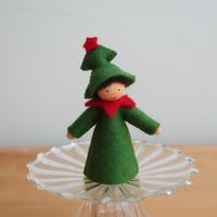 クリスマスツリー ベージュ