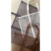 mesh tote bag L size