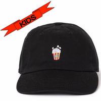 """KIDS """"Pop corn""""  Low Cap"""