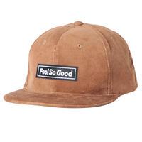 """Fool So Good"" Box Logo Wappen Corduroy Snapback Cap"