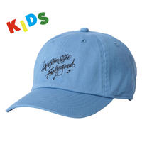 KIDS Fool So Good x KUSTOMSTYLE Script Curve Visor Low Cap
