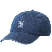 """Fool So Good""Script Curve Visor Low Cap"