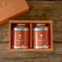 モクシャチャイギフトセット ティーメジャー付き/ Moksha Chai 80g Spiced Tea as Gift Set wit Tea Measure
