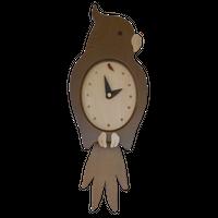 オウム時計(ダーク)
