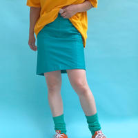 🌈Turquoise blue Leather skirt🌈
