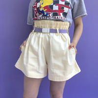 🌈Yellow stripe design Shorts🌈