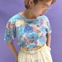 🌈Summer Blue Rose Tops🌈
