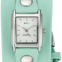 LA MER COLLECTIONS ( ラメールコレクション) 001 レディース  腕時計☆ティファニーブルー