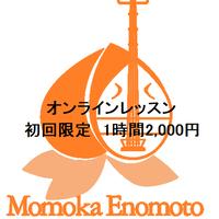 オンラインレッスン【初回限定】1時間2,000円チケット