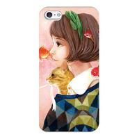 iPhoneSE/5/5Sケース 猫背(在庫少)