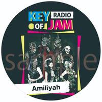 【KEY OF JAM RADIO】『Amiliyah』 イベント限定缶バッジ型キーホルダー