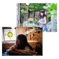 【太田彩華】クリアファイル2枚組「Aセット」