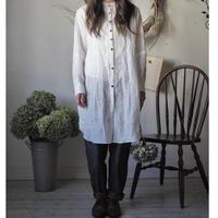 dressshirt 吉美linen white【web価格】