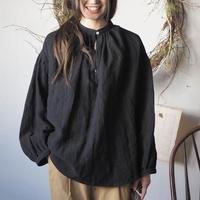 swallowtail blouse  / black【web価格】
