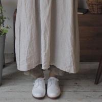 wタックとフリルのペチパンツ /cottonタイプライター【web価格】