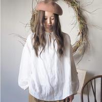 swallowtail blouse  / white【web価格】