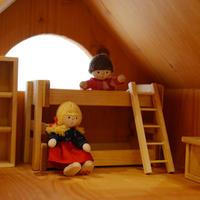 〈3才-〉【ドールハウス/家具セット】ドールハウス用 子ども部屋セット