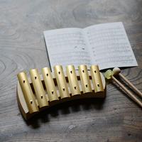 【鉄琴】【聴く・奏で遊び】アウリグロッケン クインタ7音432Hz