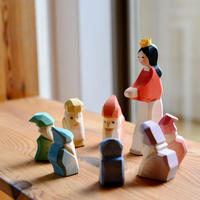 〈2才-大人〉【想像力】【お話作り】オストハイマー 白雪姫と七人の小人たちセット