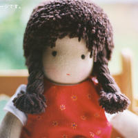 〈3才-〉ジルケ人形(小)女の子 茶色の髪