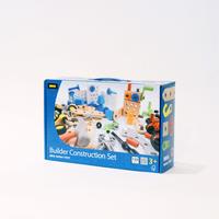 〈3才-〉【組み立て玩具】BRIOビルダー コンストラクションセット (135ピース)